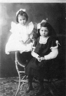 Avola, age 3 Flora, age 6