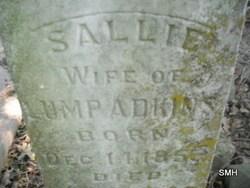 Sallie Adkins headstone