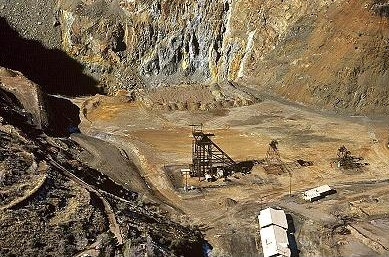 Copper mine, arizona