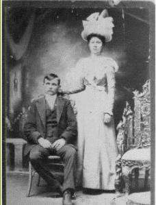 Willa Adkins and Henry Carter Burgess