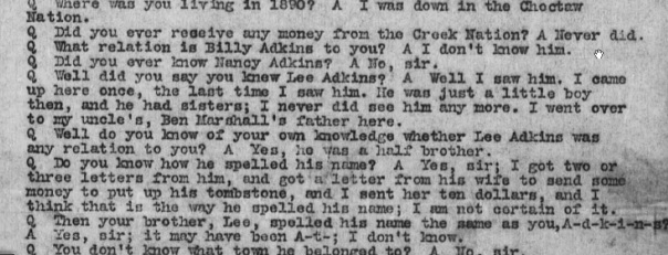 richard adkins testimony