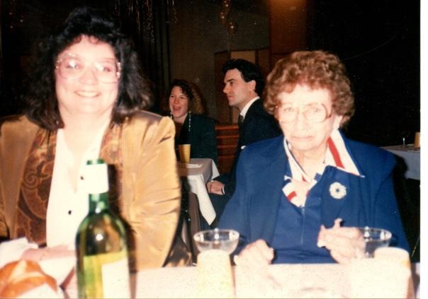 Aunt Della and me