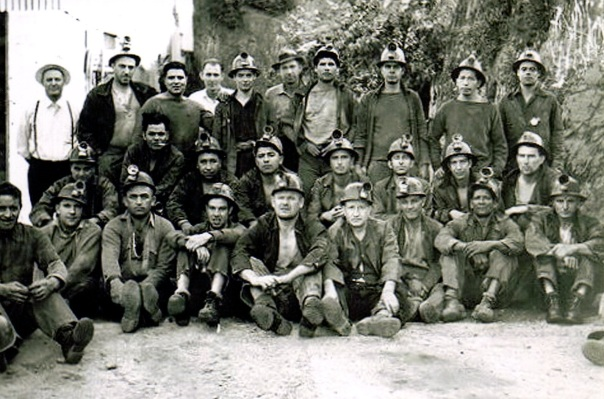 Joe and Fred in the as miners