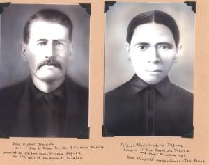 Jose Victor Trujillo & Ysidora Maria Victoria Jaquez