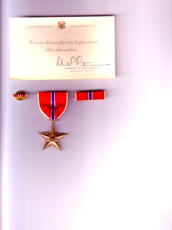 Uncle Ray's Bronze Star ++