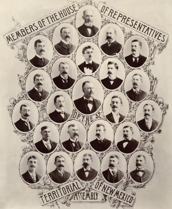 Juan N Jaquez in 1897 Territorial Legislature