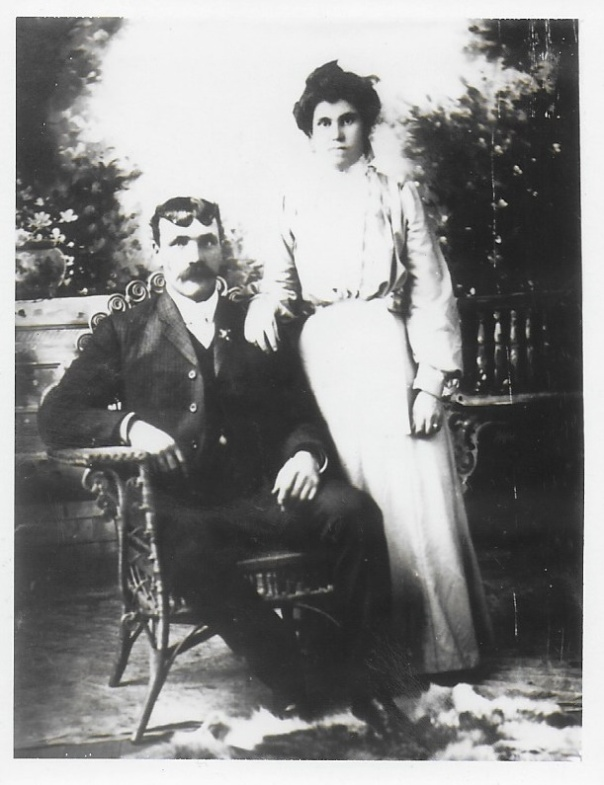 J.H. Bennett and second wife