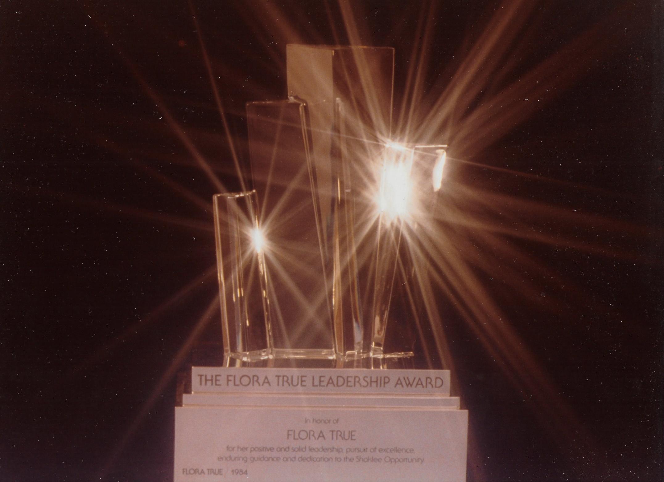 Flora True Leadership Award statute