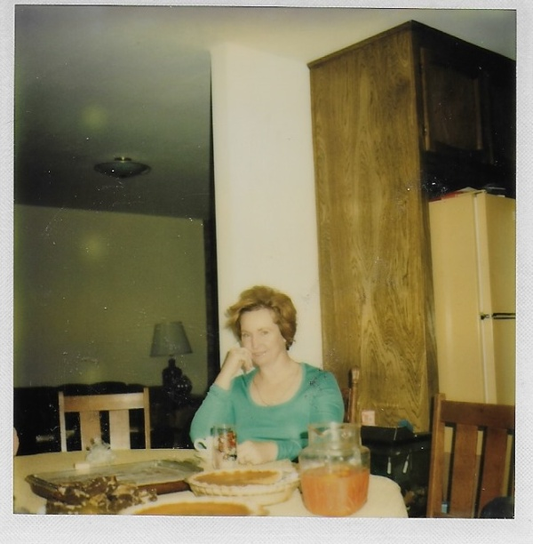 mom after dinner