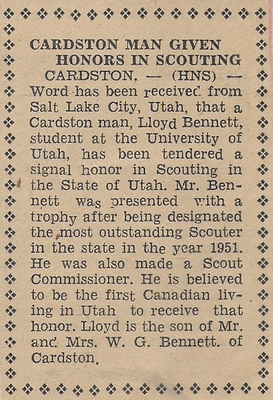 news article for lloyd