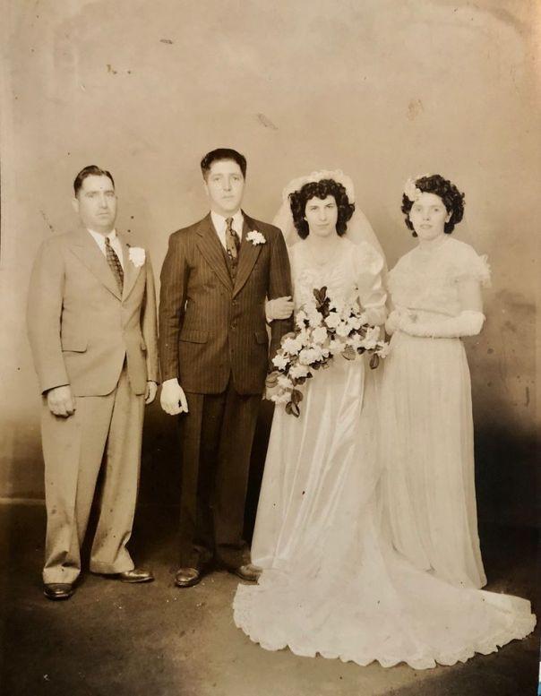 archie wedding pic