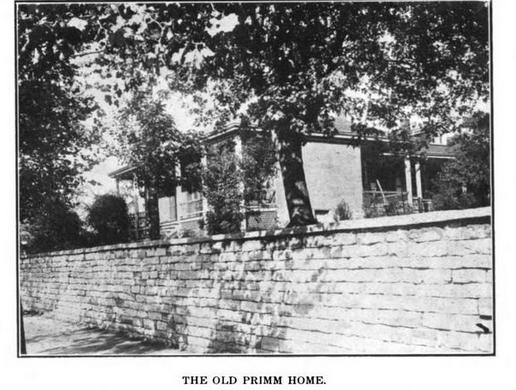 Judge Primm's residence
